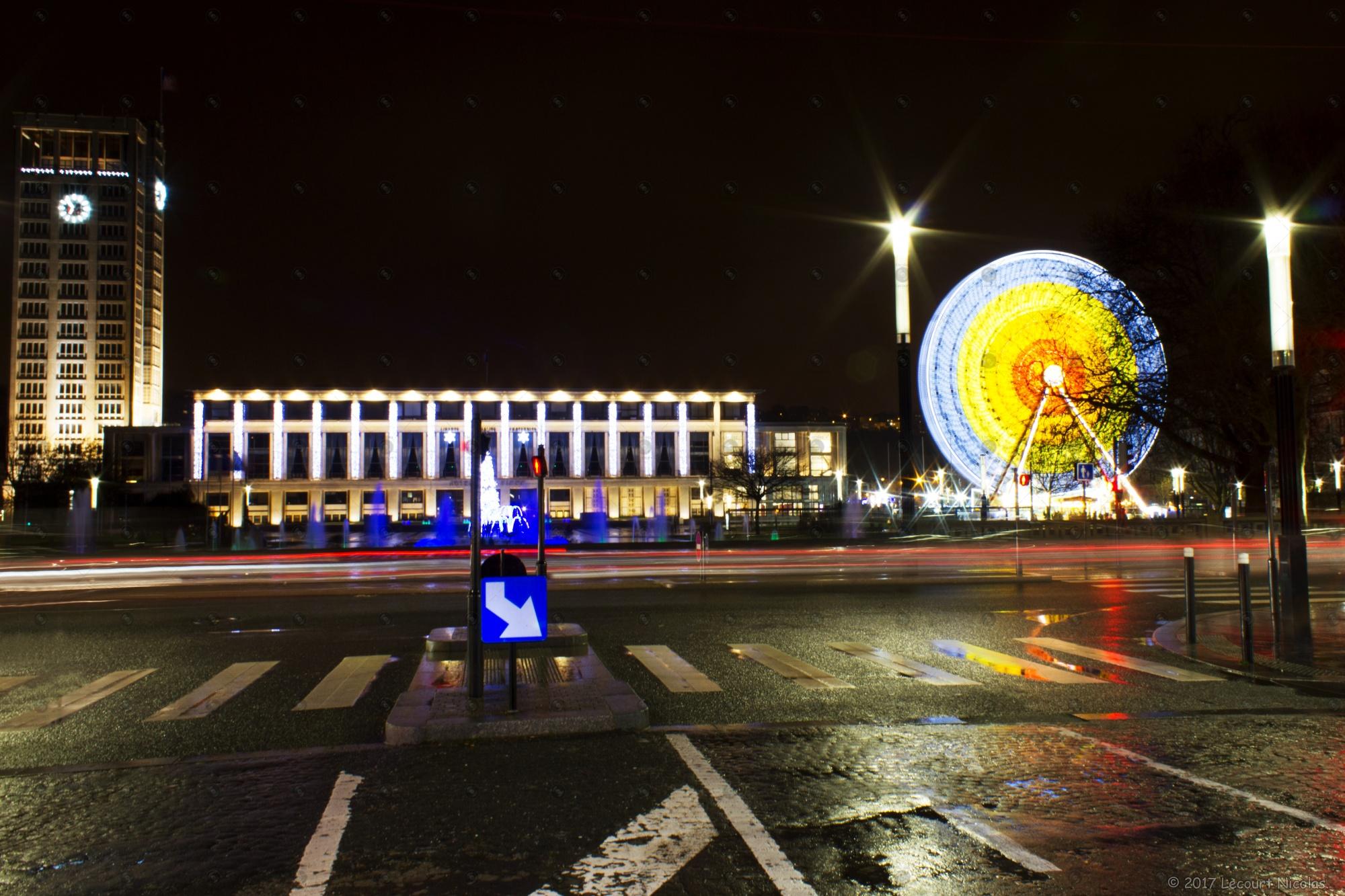 Nouvelle Photo : « Paysage de Noël au Havre »