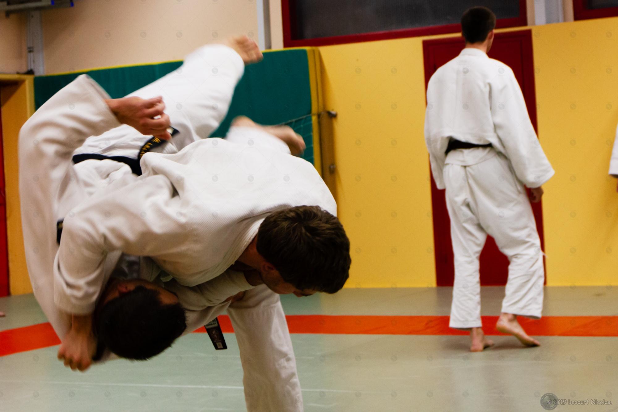 Nouveau Portfolio Portrait sportif sur le judo.