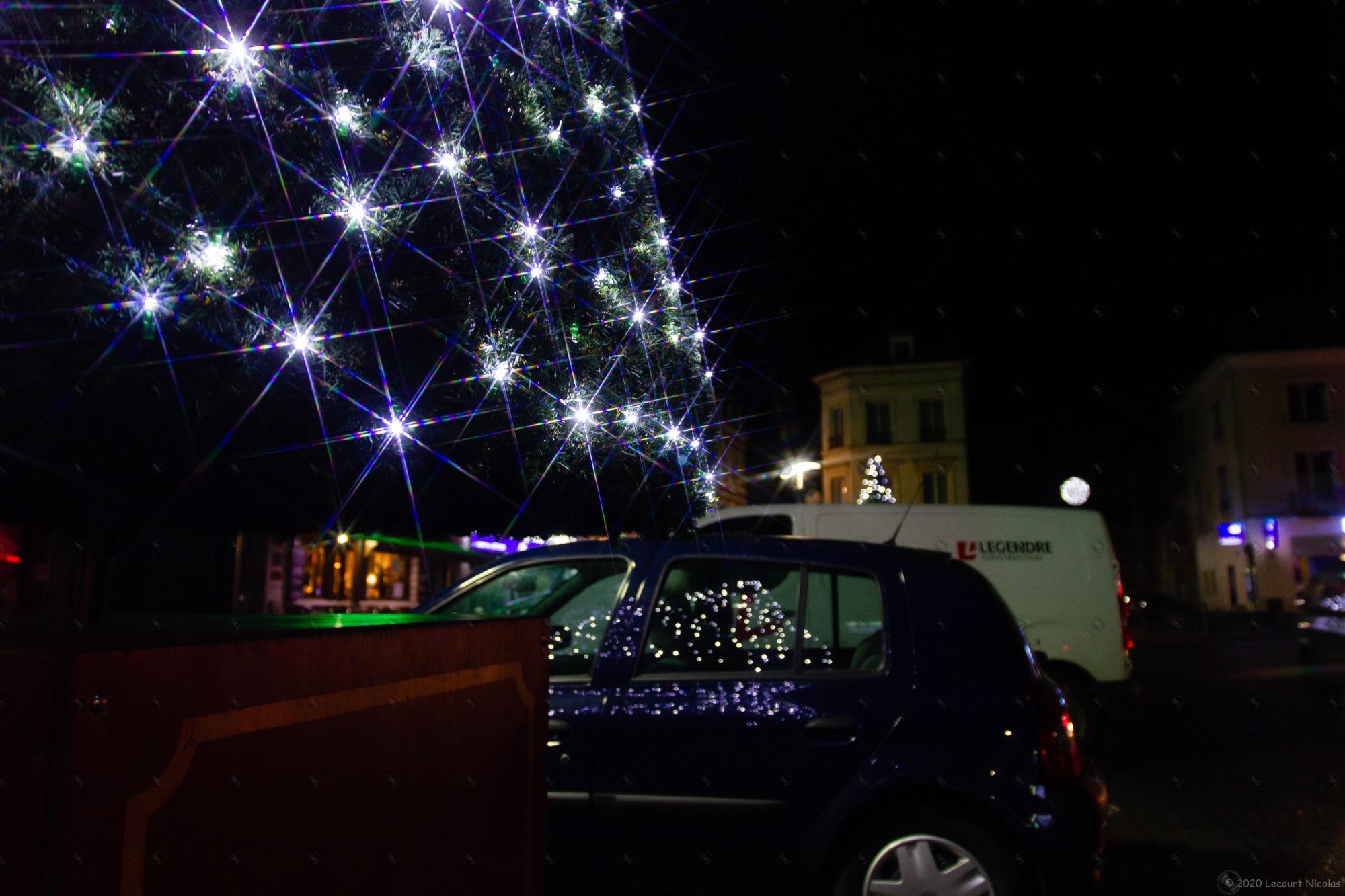 Photo Reflet étoilé « Décoration de Noël »
