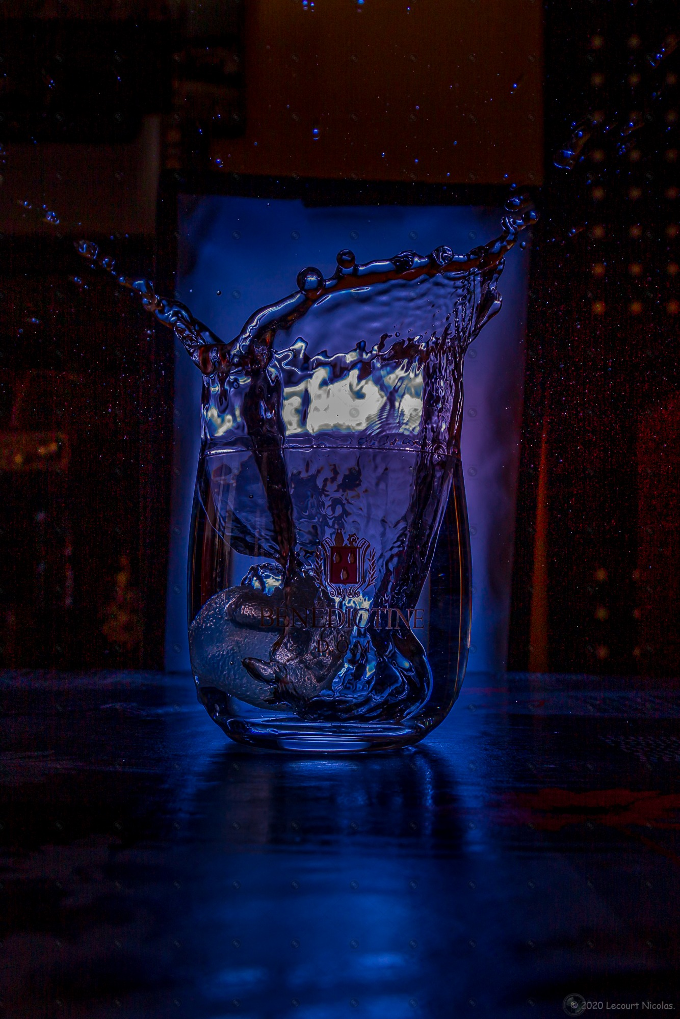 Série de Photo n°5 «Cocktail Multicolor Plus Sombre» – Album de Décoration – Série Photographique